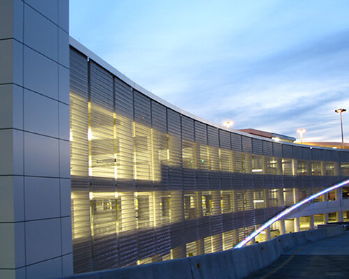 Metal & Composite Panel Fabrication: Texas | NOW Specialties  - architectural-mesh-systems-04